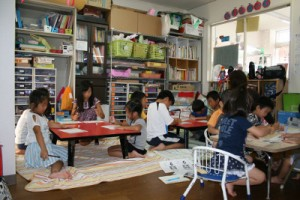 書き方教室での様子