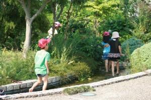 琵琶湖で遊ぶ